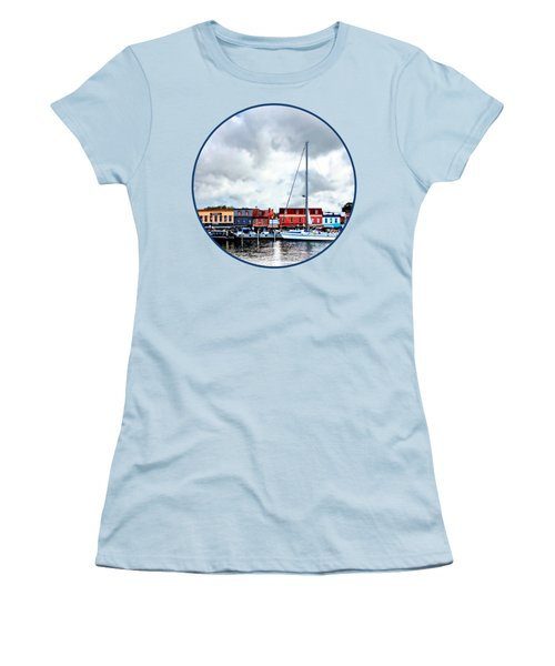 Annapolis Md - City Dock Women's T-Shirt (Athletic Fit)
