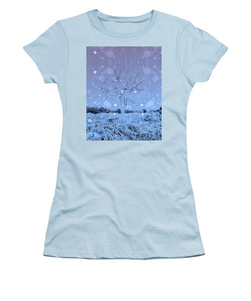 Another Dimension  Women's T-Shirt (Athletic Fit)