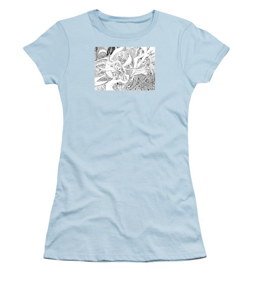 Another Kind Of Peace Women's T-Shirt (Junior Cut) by Charles Cater
