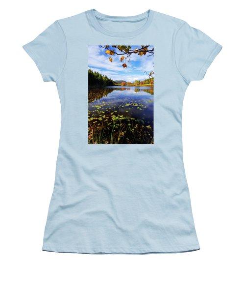 Women's T-Shirt (Junior Cut) featuring the photograph Anticipation by Chad Dutson