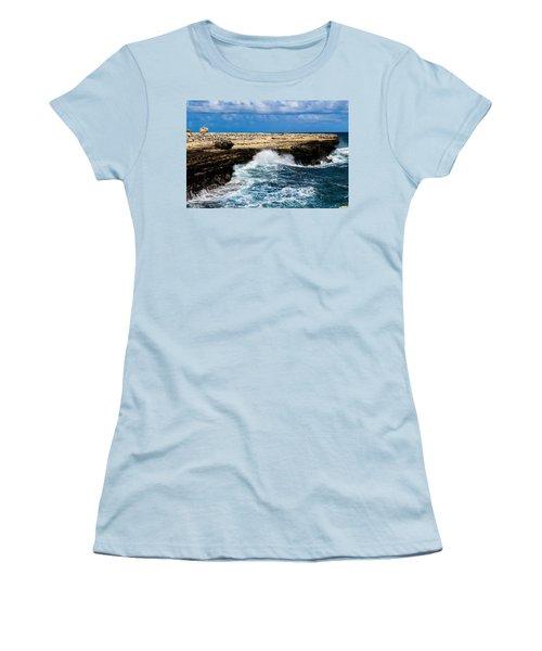 Antigua Shoreline Women's T-Shirt (Athletic Fit)