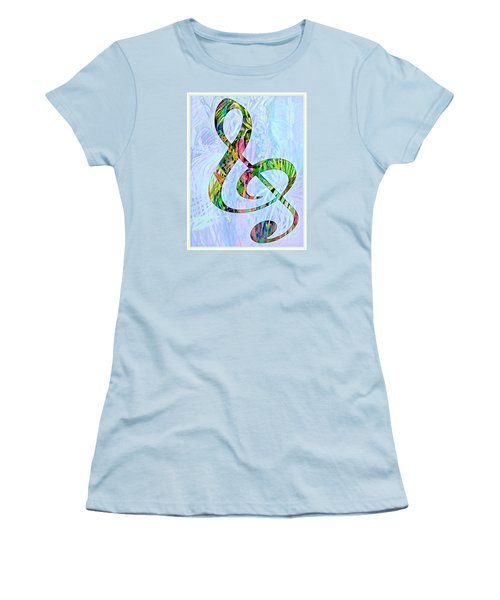 Any Kind Of Music Will Do Women's T-Shirt (Junior Cut) by Mindy Newman