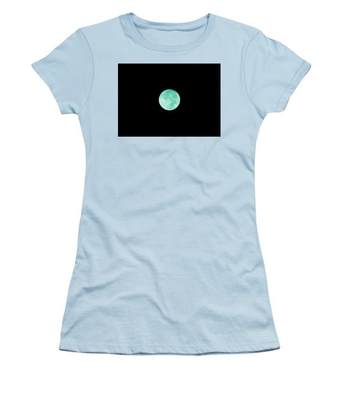 Aqua Moon Women's T-Shirt (Athletic Fit)