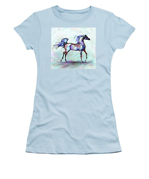 Arabian Horse Overlook Women's T-Shirt (Athletic Fit)