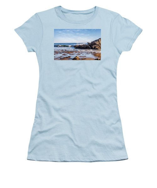 Arroyo Sequit Creek Surf Riders Women's T-Shirt (Athletic Fit)