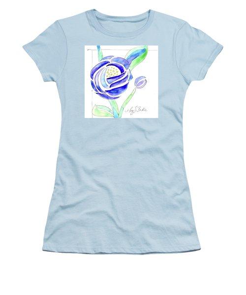 Art Nouveau Roses II Women's T-Shirt (Athletic Fit)