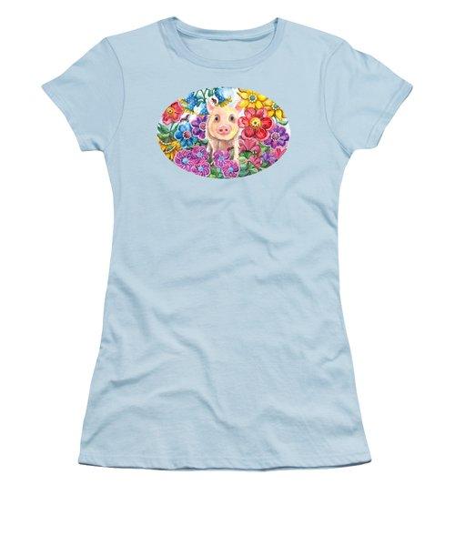 Penelope Women's T-Shirt (Junior Cut) by Shelley Wallace Ylst
