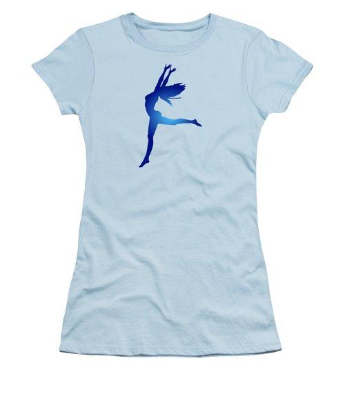 Dancing Woman Women's T-Shirt (Junior Cut) by Serena King