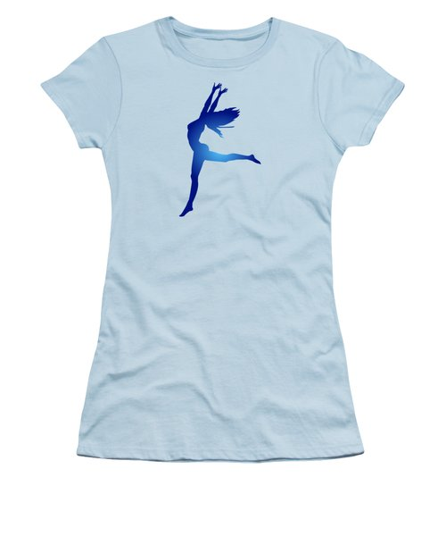 Dancing Woman Women's T-Shirt (Athletic Fit)