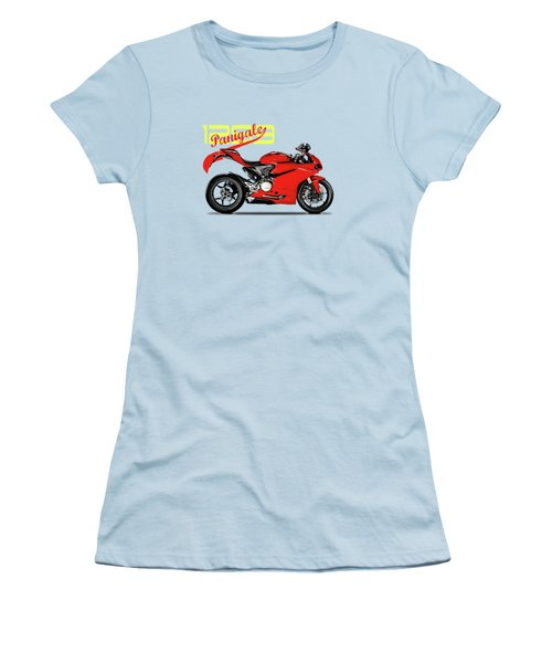 Ducati Panigale 1299 Women's T-Shirt (Athletic Fit)