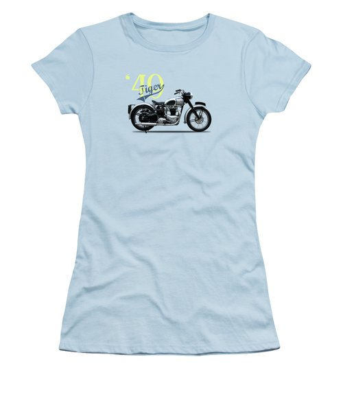 The Tiger 100 1949 Women's T-Shirt (Athletic Fit)