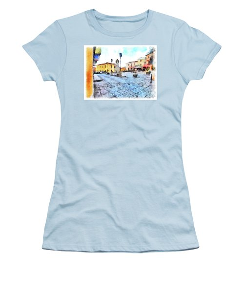 Arzachena Risorgimento Square Women's T-Shirt (Athletic Fit)