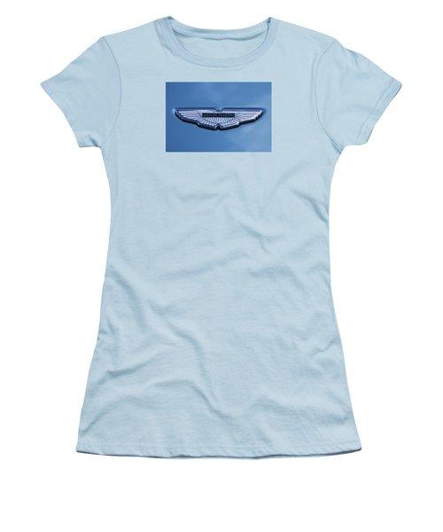 Aston Martin Women's T-Shirt (Junior Cut) by Scott Carruthers