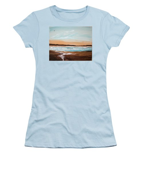 At The Beach Women's T-Shirt (Athletic Fit)