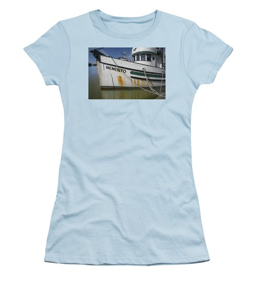 At The Dock Women's T-Shirt (Junior Cut) by Elvira Butler