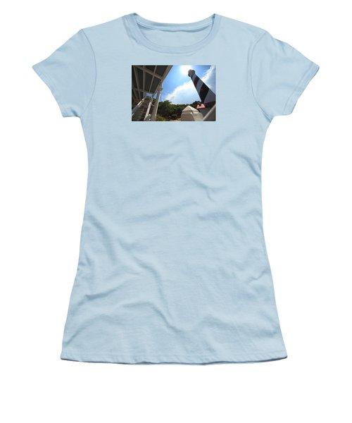 At The Light Women's T-Shirt (Junior Cut) by Robert Och