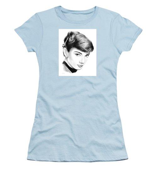 Audrey Hepburn Women's T-Shirt (Athletic Fit)