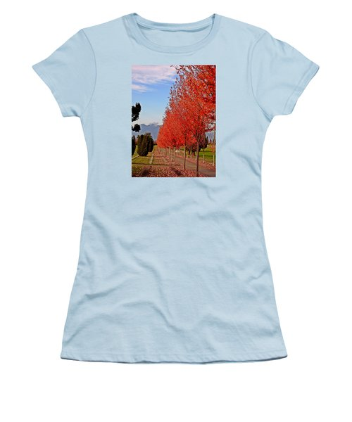 Autumn Delight, Vancouver Women's T-Shirt (Junior Cut) by Brian Chase
