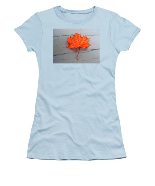 Autumn Leaf Women's T-Shirt (Athletic Fit)
