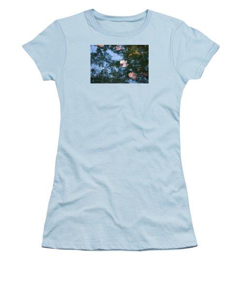 Women's T-Shirt (Junior Cut) featuring the photograph Autumn's Here by Allen Carroll