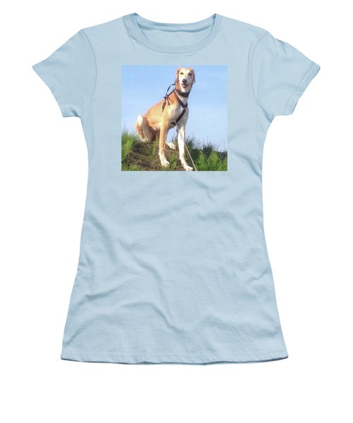 Ava-grace, Princess Of Arabia  #saluki Women's T-Shirt (Junior Cut) by John Edwards