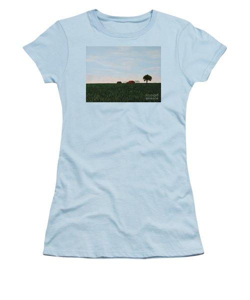 Back 40 Women's T-Shirt (Athletic Fit)