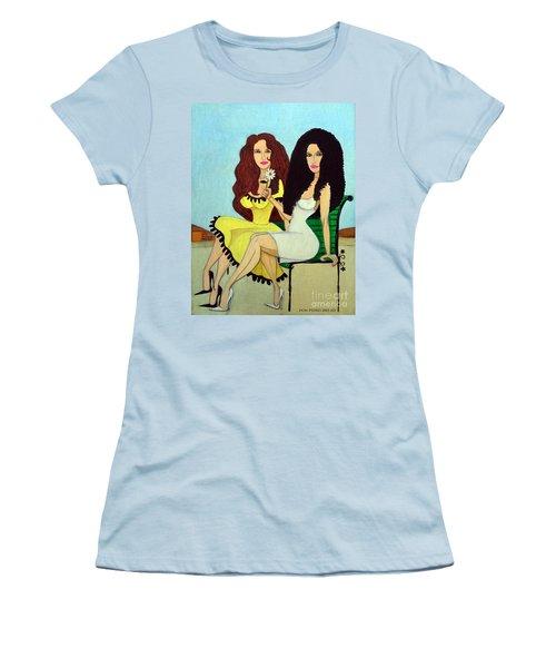 Barcelona Girls Women's T-Shirt (Junior Cut) by Don Pedro De Gracia