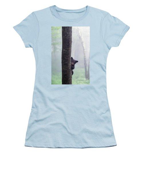 Bashful Bear Cub - Fs000230 Women's T-Shirt (Athletic Fit)
