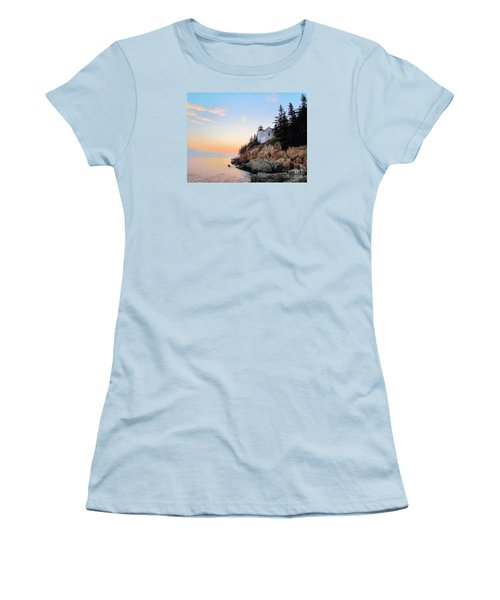 Bass Harbor Sunset II Women's T-Shirt (Athletic Fit)