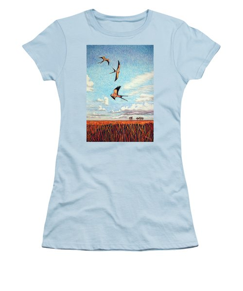 Bayou Ballet Women's T-Shirt (Athletic Fit)