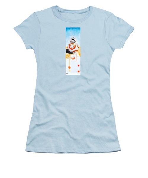 BB8 Women's T-Shirt (Junior Cut) by David Kraig