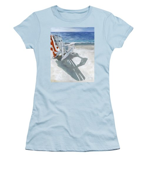Beach Chair Women's T-Shirt (Athletic Fit)