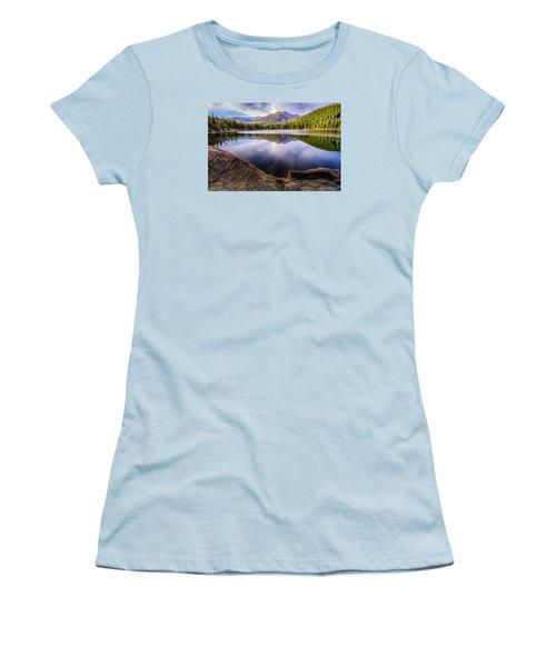 Bear Lake 3 Women's T-Shirt (Junior Cut) by Mary Angelini