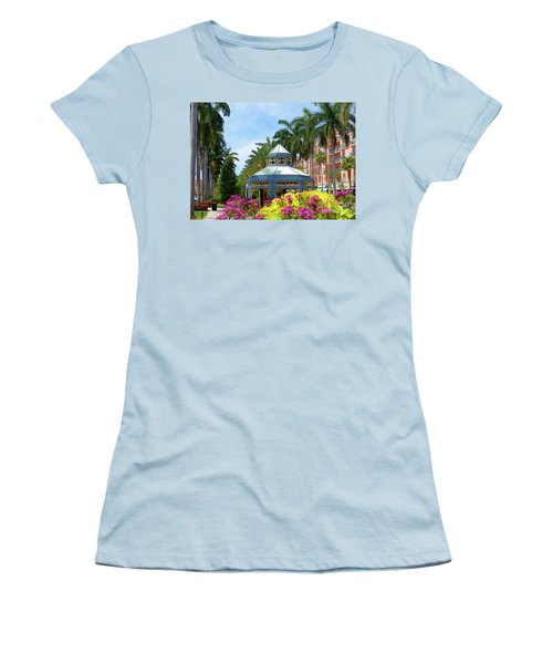 Beautiful Mizner Park In Boca Raton, Florida. #4 Women's T-Shirt (Athletic Fit)