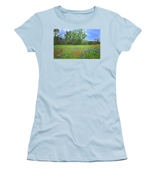 Beautiful Texas Spring Women's T-Shirt (Athletic Fit)