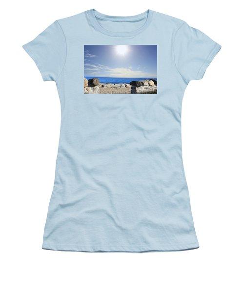 Beauty In The Distance Women's T-Shirt (Junior Cut) by Judy Palkimas