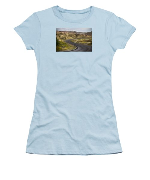 Beauty Of The Badlands South Dakota Women's T-Shirt (Junior Cut) by John Hix