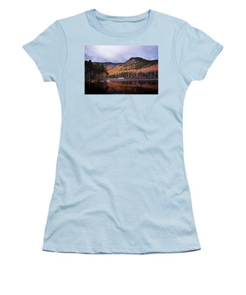 Beaver Pond Women's T-Shirt (Athletic Fit)