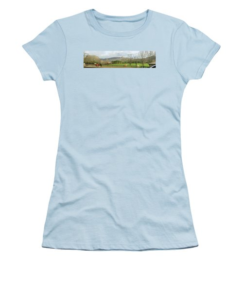 Behind The Dillard House Restaurant Women's T-Shirt (Athletic Fit)