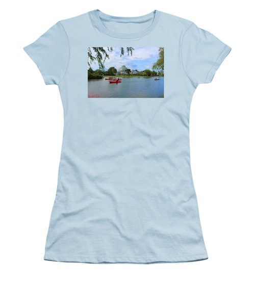 Belle Isle Conservatory Women's T-Shirt (Athletic Fit)