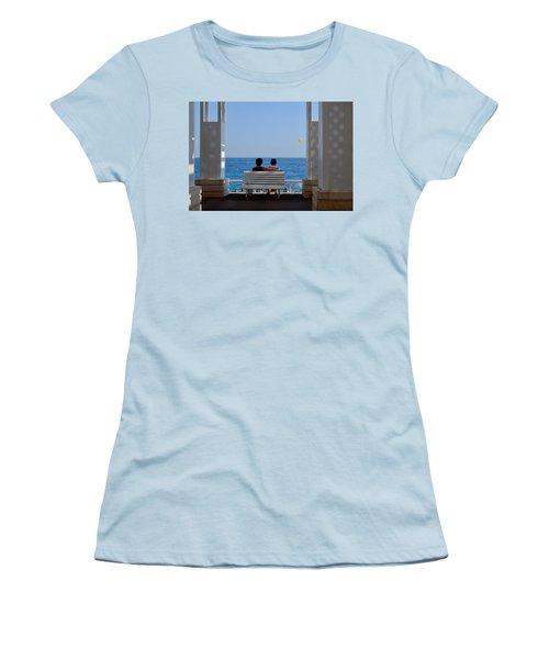 Below Sea Level Women's T-Shirt (Athletic Fit)