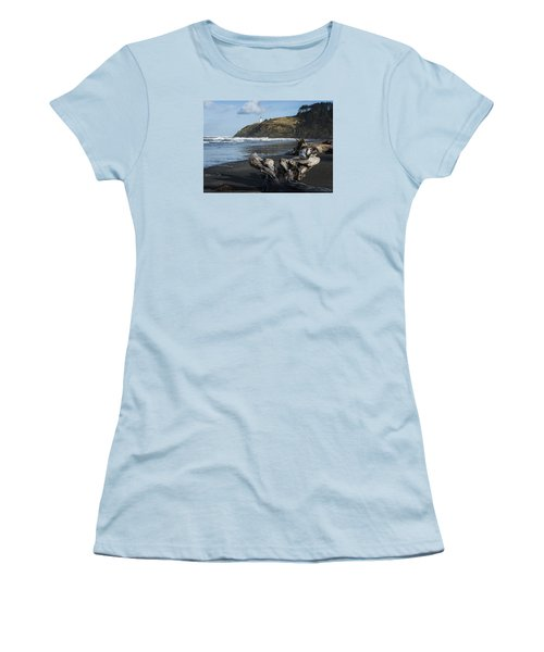 Benson Beach And North Head Women's T-Shirt (Athletic Fit)
