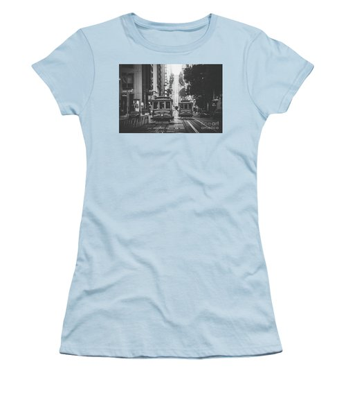 Best Of San Francisco Women's T-Shirt (Junior Cut) by JR Photography