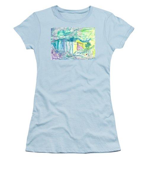 Bewitched Women's T-Shirt (Junior Cut) by Veronica Rickard