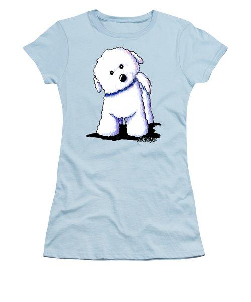 Bichon Boy Women's T-Shirt (Athletic Fit)