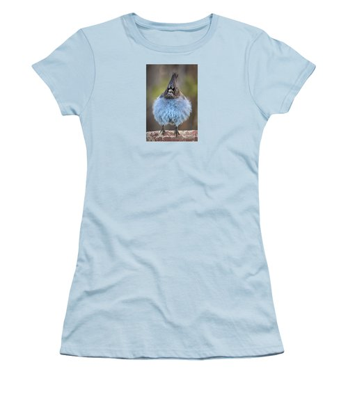 Big Blue Women's T-Shirt (Junior Cut) by Alice Cahill