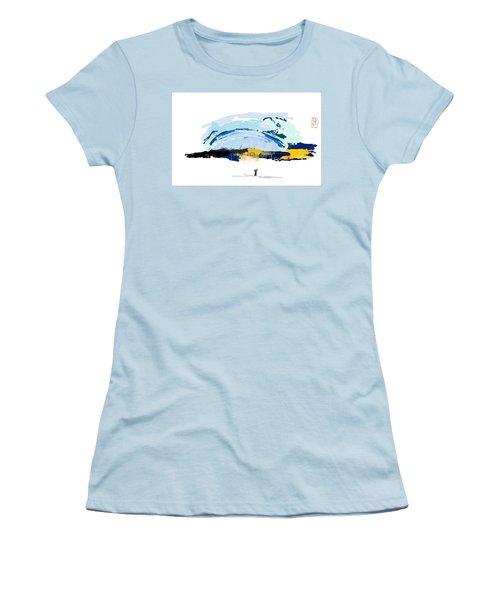 Big Storm Coming Women's T-Shirt (Junior Cut) by Debbi Saccomanno Chan