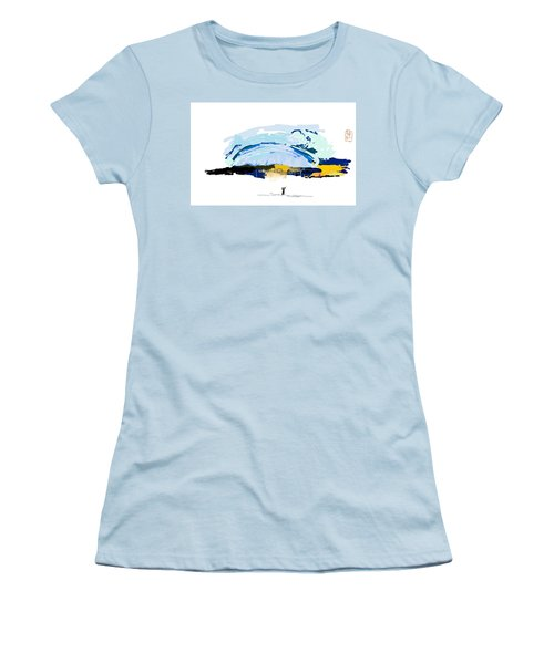 Big Storm Coming Women's T-Shirt (Athletic Fit)