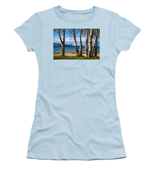 Birch At The Mac Women's T-Shirt (Athletic Fit)