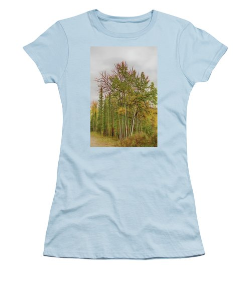 Birch Tree #1 Women's T-Shirt (Athletic Fit)